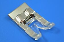 Presser Foot SNAP-ON Satin Stitch WILL FIT Singer,Brother,Baby Lock & #85015.