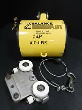 Used Rand/Zimmerman Z Balance 300Lb Balancer & Trolley Air 2 F Feet Cable 1E