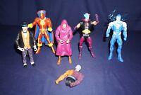 DC UNIVERSE CLASSICS RED TORNADO DESAAD BLUE SUPERMAN  ACTION FIGURES MATTEL