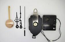mécanisme horloge pendule à balancier- aiguilles ciselées - sonnerie - balancier