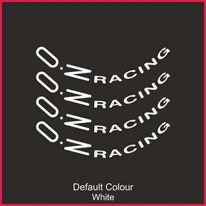 "Oz Racing Wheel Decals 18"" X8,Vinyl, Sticker, Graphics,Car, Wheels, N2141"