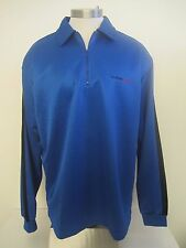 Guess Jeans 1/2 Zip Pullover Sweater Blue Mens XL New
