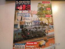**d Loco revue n°652 La 3-050 TA 911 en H0 de Piko / 040 DE en H0 chez Roco