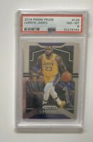 2019-20 Panini Prizm PSA 8 Lebron James #129 Los Angeles Lakers