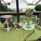 KITCHEN AID ARTISAN STAND MIXER with MANY EXTRAS photo