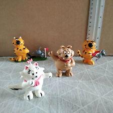 Figurine PVC vintage yolanda ENTRECHATS heathcliff - série