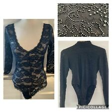 x2 Bodysuits - Beaded & Embroidered & Stretch Lace