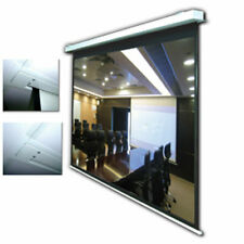 "92"" Electric Motorised In-Ceiling Projector Screen 16:9"