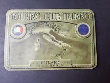 TESSERA TOURING CLUB 1931