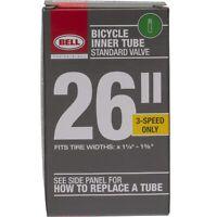 Bell 26 - Inch Universal Inner Tube, Width Fit Range 1-3/8-Inch, Black
