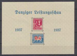 Danzig  Block 3  Danziger Leistungsschau  ** (mnh)