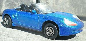 Diecast Car Welly 2040 Porsche Boxster  Metallic Blue