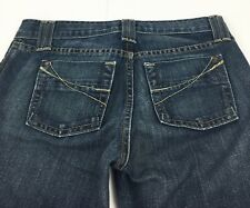 Gap Curvy Ultra Low Rise Boot Cut Flare Dark Wash Denim Blue Jeans Women's 4R