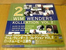 WIM WENDERS KOLLEKTION VOL 2 LASERDISC BOX SET BRAND NEW & FACTORY SEALED