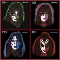 Kiss - Solo Album Bundle - Peter/Paul/Ace/Gene - 4 x Picture Disc Vinyl LP *NEW*