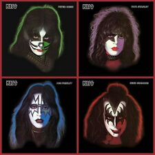 Kiss - Solo Album Bundle - Peter/Paul/Ace/Gene - 4 x Picture Disc Vinyl LP *NEW*