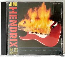 HENDRIX CD - JIMI PLAYS MONTEREY pop festival Original Motion Picture Soundtrack