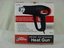 Drill Master 1500 Watt Dual Temperature Heat Gun Strip Remove Seal Thaw Bend