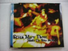 SEVEN MARY THREE - MAKE UP YOUR MIND - CD SINGLE EXCELLENT CONDITION 1997
