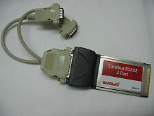 redchief CT-4092 carte cardbus 2 series RS232 DB9 - PCMCIA CARDBUS ADAPTER CARD