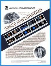 USPS COMMEMORATIVE PANEL #375 SPACE EXPLORATION #2577A