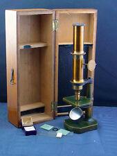 schönes altes Mikroskop  19.Jhd.