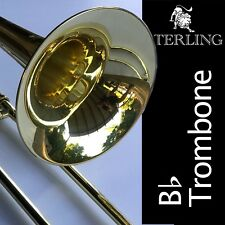 Sterling Bb TROMBONE • High Quality • Brand New • With Case Plus Accessories •