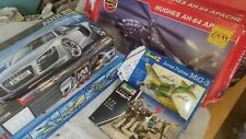 Model kits Job Lot. Parts Missing. Kitbash/ Spares.