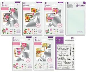 NEW Gemini DOUBLE SIDED Dies Junior Cutting Plates & Stamps - Crafters Companion