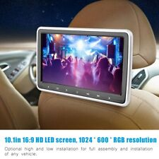 10.1in HD HDMI Car Headrest DVD Player Digital Pillow Monitor USB/SD/IR/FM Game