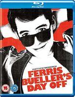 Ferris Bueller's Day Off [Blu-ray] [1986] [Region Free] [DVD][Region 2]