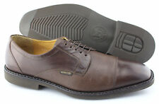 P - Men's MEPHISTO 'Melchior' Brown Leather Cap Toe Oxfords Size US 12 EUR 11.5