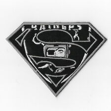 Oakland Raiders Iron on Patches Embroidered Applique Badge Emblem Logo Sew TA
