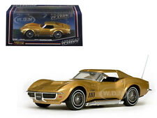 1969 CHEVROLET CORVETTE COUPE RIVERSIDE GOLD 1/43 DIECAST MODEL BY VITESSE 36249