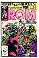 ROM Spaceknight 24 Marvel 1981 NM- Nova Champions Al Milgorm