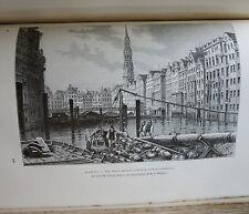 Géographie Universelle Europe Centrale ( Alsace ) Elisée RECLUS éd Hachette 1881
