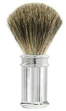 Edwin Jagger Shaving Brush -100% Pure Badger Hair, Lined Chrome Plated 81SB89L11