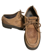 Timberland Men's Leather Shoes Brown Formal Casual UK 8 M 69015