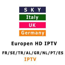 1 YEAR IPTV  SERVICE 1 YEAR 2000+ CHANNELS-FREE TEST 24H- UK-DE-IT-FR-NL-SP.....