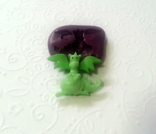 Silicone Mold Cute Dragon Mould (27mm) - Fondant Topper Clay Chocolate Jewelry