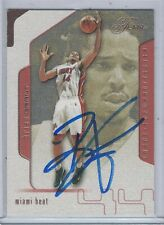Brian Grant Miami Heat 01-02 Fleer Flair Authentic Autograph COA