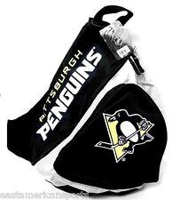 Pittsburgh Penguins NHL Sling Book Bag Camera Case Back Pack School Slingshot
