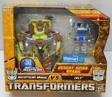 Transformers Desert Ruins Brawl Wal-Mart Exclusive Brawl vs Jolt NIP 2010 Hasbro