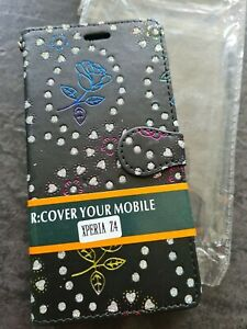 Case for Sony Xperia Z 4 Phone Cover with Card Slots Wallet Book