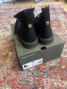 Timberland Truecloud Boot. Black Canvas Mens UK10.5