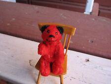 schuco red teddy bear e
