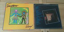 Santana Shango UK LP With Inner A2 B2 CBS 85914 Latin Blues Soft Rock
