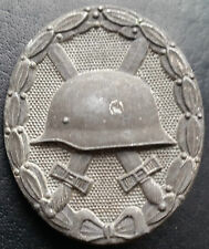 ✚7346✚ German Wound Badge SILVER post WW2 1957 pattern Verwundetenabzeichen