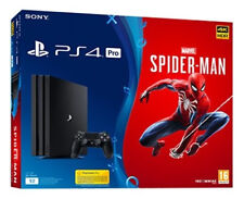 Sony PlayStation 4 Pro 1TB Marvel's Spider-Man Console Bundle *brand new*