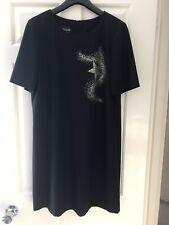 Moschino Boutique Ladies Black Dress, Size 46(14 uk), Bnwot